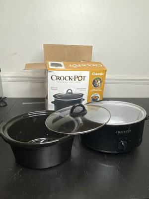 Crock-Pot 4 Quart Black Slow Cooker for Sale in Orlando, FL