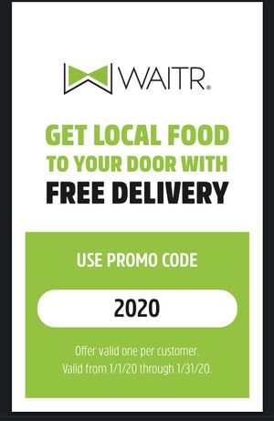 Free Delivery Promo Code from Waitr for Sale in Flint, TX