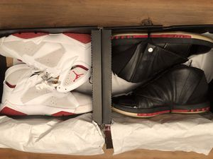 Retro Air Jordan package - 7's and 16's - size 11.5 for Sale in Oakland, CA