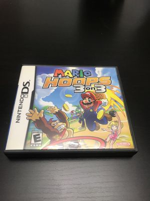 Mario Hoops 3 on 3 ds for Sale in Union City, NJ