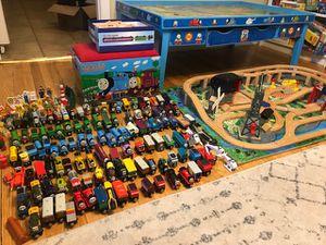 Thomas the tank engine table/trains/track/box for Sale in Arlington, VA
