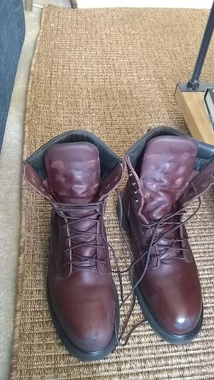 Red wing steel toe work boots for Sale in Las Vegas, NV
