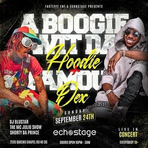 Ticket famous dex & A BOOGIE for Sale in Laurel, MD