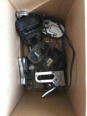 Staplers power tool batteries and charger +++ for Sale in Fallbrook, CA