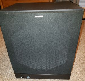 "Sony SAWM40 SA-WM40 Black Active Powered 12"" Inch Sub Subwoofer Sub-woofer for Sale in Stow, OH"