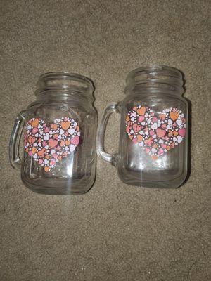 2 decorative Mason jars for Sale in Tampa, FL