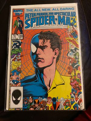 Peter Parker, the spectacular Spider-man #120 for Sale in Phoenix, AZ