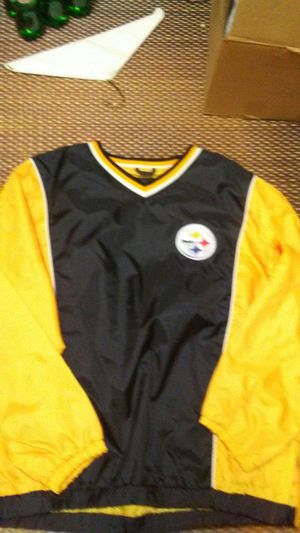 Vintage xl wind breaker ..over head NFL red tag for Sale in Pittsburgh, PA