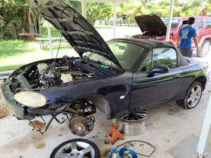 1999 / 2003 mazda miata parts for sale. Miata part out ! Nb1 nb2 mx5 mx-5 ALOST EVERYTHING STILL AVAILABLE for Sale in Fort Lauderdale, FL