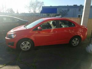 2014 Chevrolet Sonic 4dr Sdn Auto LT CHEVY Car for Sale in Manteca, CA