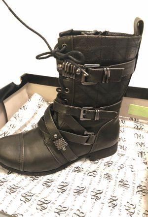 "Girl black boots 👢. ""LOOKS LIKE BRAND NEW "" for Sale in Lehigh Acres, FL"