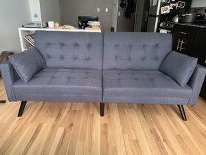 Mid Century Modern Sofa/ Couch/ Futon for Sale in Portland, OR