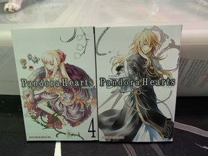 Pandora Hearts Manga Vol 4 and 5. for Sale in Cerritos, CA