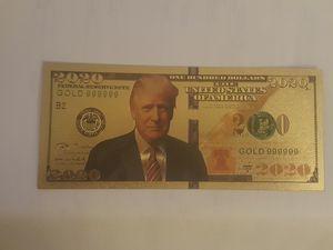 Donald Trump Commemorative Cash for Sale in Humble, TX