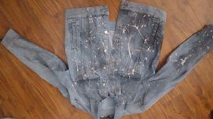 Custom Painted Jean Jacket (Size M) for Sale in Alafaya, FL
