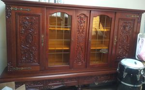 Antique German Shrunk Cabinet $200.00 for Sale in San Leandro, CA