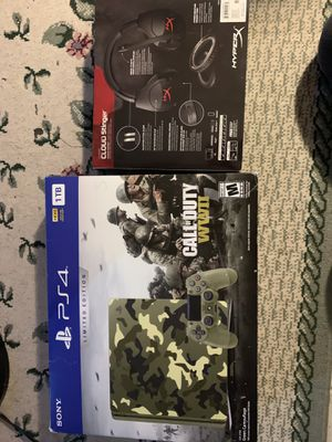 PS4 1TB WWII special edition for Sale in Woodbridge, VA