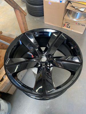 Dodge Chrysler rim wheel charger challenger magnum set for Sale in Montclair, CA