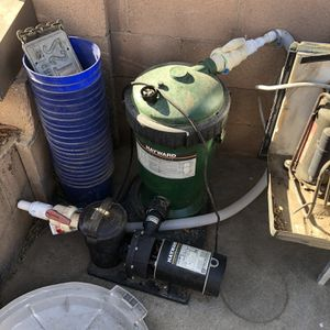 Hayward Pool Pump And Filter for Sale in Chatsworth, CA
