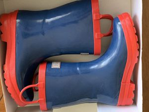 Hatley Kids Classic Rain Boots - Size 1 for Sale in Miami, FL