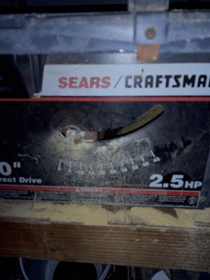 Sears/craftsman table saw for Sale in Wellston, OK
