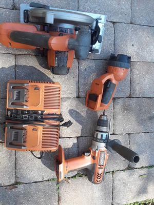 Ridgid cordless tools. for Sale in Orlando, FL