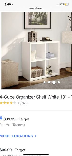 Cube shelf for Sale in Tacoma, WA