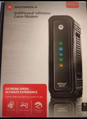 New Motorola cable modem for Sale in Palm Beach Gardens, FL
