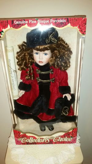Collector's Choice Limited Edition Porcelain Doll for Sale in Cooper City, FL