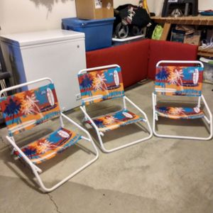 Beach/Concert Chairs for Sale in Vancouver, WA