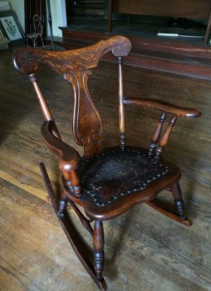 Antique Oak rocking chair for Sale in Seattle, WA