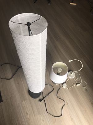 Lamps: floor lamp, table lamp, desk lamp for Sale in Lakewood, CO