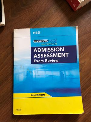 Hesi admission assessment for Sale in Peoria, AZ