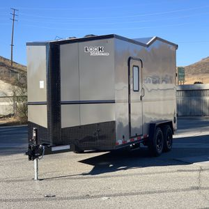 New 7.5x16 Enclosed Off- Road Look Trailer for Sale in Redlands, CA