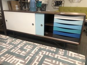 Mid century modern envoy tv stand for Sale in North Bethesda, MD