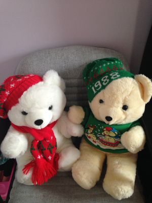 2 teddy bears in excellent condition for Sale in La Vergne, TN