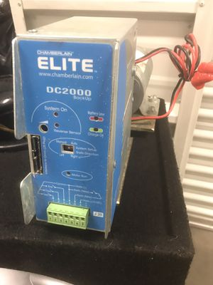 Elite gate motor and battery backup for Sale in North Las Vegas, NV