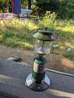 Colman propane lantern. Never used no rust for Sale in Portland, OR