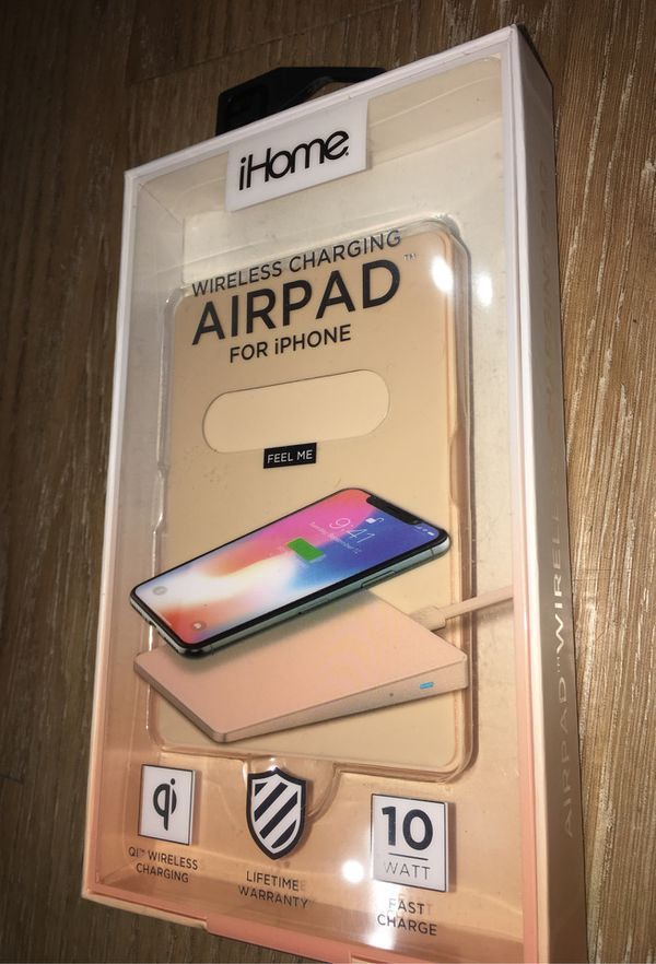 iHome Airpad Wireless Charger for iPhone • new