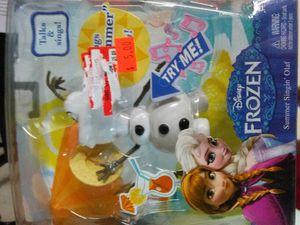 SMALL SINGING OLAF. for Sale in Carrollton, TX