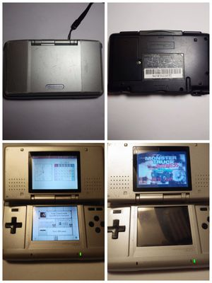 Original Grey Charcoal Metroid Edition Nintendo DS System game boy advance video game gameboy for Sale in Riverside, CA