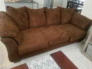 Brown Sofa for Sale in Mount Hope, KS