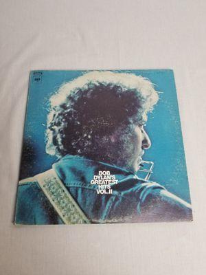 BOB DYLAN'S GREATEST HITS VOL. II Vinyl Record 2X LP COLUMBIA PG 31120 w/orig poster for Sale in Tiverton, RI