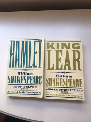 Shakespeare Books Hamlet and King Lear for Sale in Glendale, CA