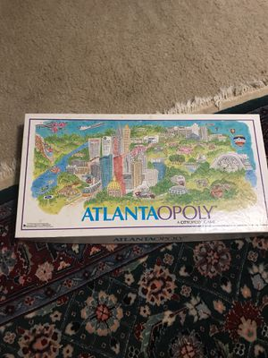 Atlantaopoly Board game for Sale in Duluth, GA