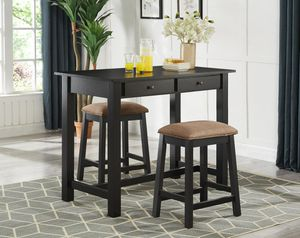 Black Pub Height Dining Set •BRAND NEW• for Sale in Ellicott City, MD