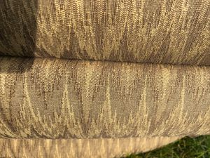 Free Recliner one patched spot. Not heavy. Breaks down into 2 pieces for Sale in Shrewsbury, MA