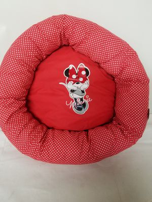Disney Minnie Mouse Red Plush Soft Pet Cat Dog Puppy Small Polka Dot Bed New for Sale in Jacksonville, FL