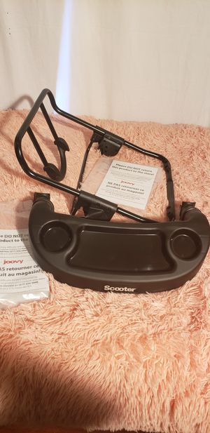 Joovy car seat adapter and front tray for Sale in Austin, TX