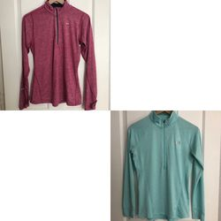 Nike and Under Armour Long Sleeve Half Zip Dri-fit Running Tops for Sale in Phoenix,  AZ